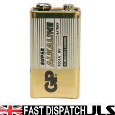 1 x GP SUPER 9V Battery MN1604 6LR61 PP3 BLOCK 6LF22 ALKALINE