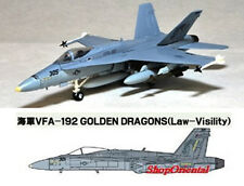 JWings 4 F/A-18C HORNET VFA-192 Fighter Aircraft Carrier Plane Model 1:144 JW4_6
