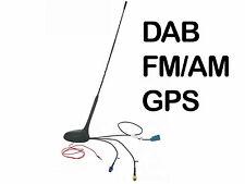 DAB in car aerial Universal AM FM GPS Roof Mount antenna for Digital radio AD-6