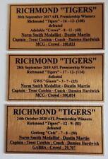 207-2019-2020 all 3  Richmond Premiers Gold Plaque F/Post