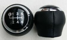 Schaltknauf für Toyota Auris Avensis Corolla RAV4 Schalthebel Leder Hebel 6 Gang