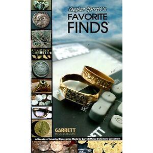 NEW Vaughan Garrett's Favourite Finds Book - (Metal Detecting) - DETECNICKS LTD