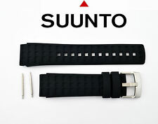 Suunto watch band strap Elementum Terra Original Black Rubber W/2Pins