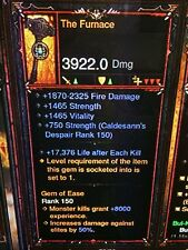 Diablo 3 Primal ancienne authentique le Four patch 2.6.1 SC Mode XBOX ONE ou PS4