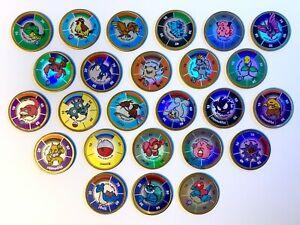 Pokemon Battling Coins - Nintendo Hasbro - Vintage - Rare - 1999 - You Choose