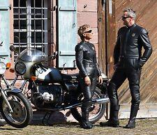 Nagelneue Motorradkombi HARRO ASSEN Lederkombi Oldtimer Größe 48 Rennweste