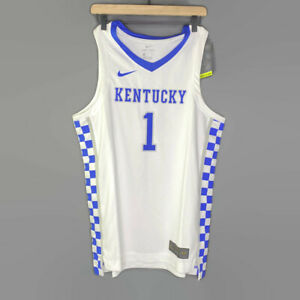 Nike Kentucky Wildcats Elite Game Jersey Devin Booker UK CD3150 100 Size M