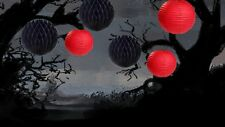 6 PCs HALLOWEEN Party  Honeycomb Ball Round Paper Lanterns Decoration (No.6)