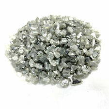 Silver Glitter mirrored Crushed Glass Chippings  | 1-4mm | 50g