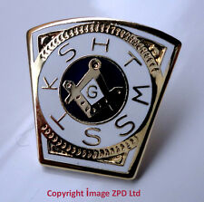 ZP216 Geometry Square Compass Freemason Mark Master Mason HTWSSTKS badge