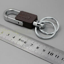 Men Duan Ring Stainless Steel Keyring Chain Keyfob Key Loop Holder for Car Key