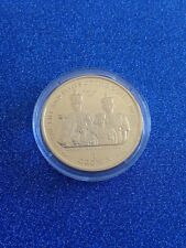 2000 Isle Of Man Silver Gold Plated 1 Crown The Life & Times Of The Queen Mother