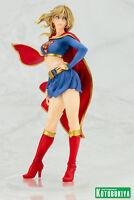 DC Comics ~ SUPERGIRL BISHOUJO STATUE ~ Kotobukiya Koto DC Universe Superman