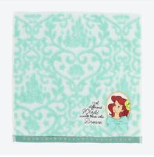Pre-Order Tokyo Disney Resort Mini Towel Princess Ariel Little Mermaid 25 x 25