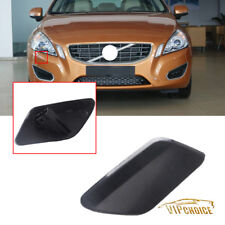 For 2011-2013 Volvo S60 Primed Front Bumper Headlight Washer Cover Cap Right