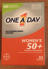 One A Day, Women's 50 + Complete Multivitamin 65 Tablets