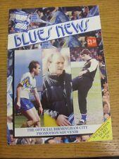 1991/1992 Birmingham City: Official Promotion Souvenir, 32 Page Publication. Tha