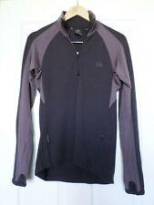Icebreaker Sport 320 zip pocket thumbhole merino wool 1/4 zip sweater Sz M