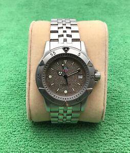 Tag Heuer 1500 Professional WD1211-K-20 Men's Quartz Watch, Granite Dial, 200m