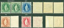 Schweiz 5 postfrische Marken