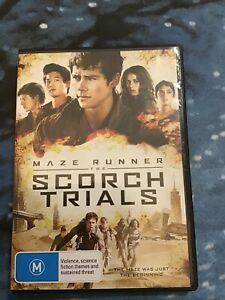 The Maze Runner - Scorch Trials (DVD, 2015)