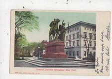 General Sherman Monument New York USA 1905 U/B Postcard 955a