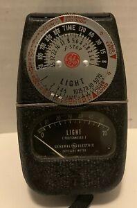 Light Meter GE General Electric Exposure Type DW-68
