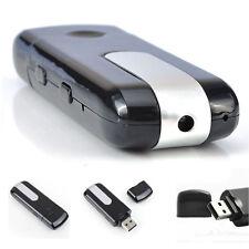 Neu USB Stick Mini Kamera Spy Cam Video Camera HD Bewegungsmelder 5V Schwarz