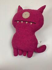 Ugly Doll Ugly Dog Pink Magenta Plush Stuffed Animal Monster