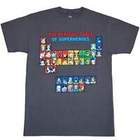 Superhero Periodic Table T-Shirt