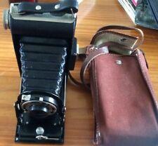 Vintage Kodak six-20 Junior Folding Camera With Case