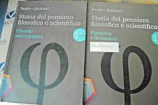 STORIA DEL PENSIERO FILOSOFICO E SCIENTIFICO VOL.1 (IN 2 VV) - REALE - LA SCUOLA