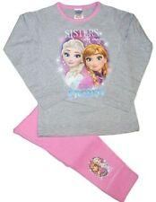 Pyjamas multicolore à manches longues pour fille de 2 à 16 ans en 100% coton