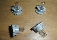 Scalextric 4 easy fit light bulbs in holder (Mondeo Renault BMW etc.) car spares