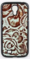 3D Angel Ranch Turquoise & Brown Samsung Galaxy S4 Snap-on Shell Case PH767 New