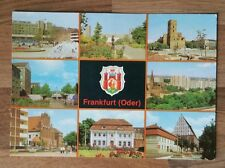 AK Frankfurt (Oder) / Brandenburg - 8 Bild Karte  / ca. 1981