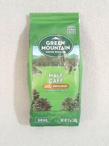 Green Mountain Coffee Roasters Half-Caff  Ground Coffee, Medium Roast, 12 Ounce
