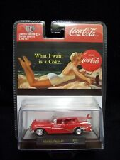 M2 Machines Coca Cola 1954 Buick Skylark Convertible Limited Edition.