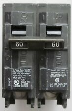 Siemens 2 Pole 60 Amp 240 Volt Circuit Breaker Cat Q260 Type QP