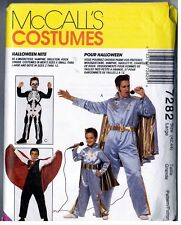 McCalls 7282 Halloween Costume Men Vintage 1994 Uncut LARGE Knight Elvis Dracula