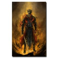 "Dark Souls 3 12""X18"" Video Game Silk Poster Cool Gifts Wall Decoration Art Print"