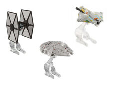 Hot Wheels Star Wars naves espaciales 3er set (Fantasma Millennium Falcon TIE