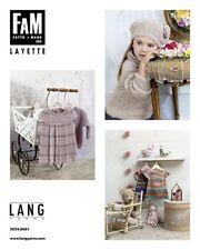 Lang Yarns Fait À La Main No.250 Layette Modèles De Tricot 56-110