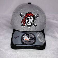 PITTSBURGH PIRATES SEWN LOGO NEW ERA A-FLEX FITTED BASEBALL HAT SM MED NEW NWT