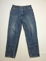 Men's Levi 726 'Tapered' Jeans - W35 L32 - Navy - Silver Tab - Great Condition
