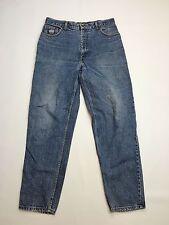 """Men's Levi 726 """"CONIQUE"""" Jeans-W35 L32-Bleu Marine-SILVER TAB-très bon état"""