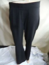 "Chico's Dress Pants Gray Rayon/Nylon Blend 1"" Leg Flare Woman's Size 2 Short VGC"