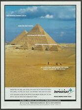INMARSAT Global Mobile Satellite Communications - 1998 Print Ad