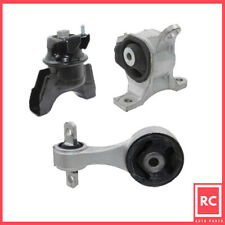 Motor & Torque Strut & Trans Mount 3PCS Fit 12-15 Honda Civic 1.8L for Manual