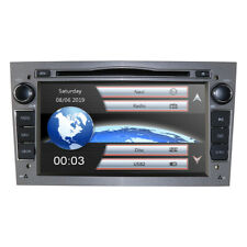 Car Stereo DVD Player GPS Nav Radio Canbus fit Opel Vauxhall Zafira Corsa Grey